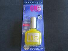 Laca de uñas Gemey Maybelline SE LE OFF Afijo 02 yellow sumergible/amarillas
