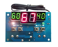 12V Intelligent Digital Led Thermostat -9°C - 99°C Temperature Controller NEW