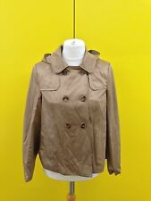Womens New Look Double Breasted Coat - Uk12 - Beige - New With Tags!