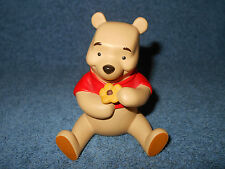 """DISNEY WINNIE THE POOH & FRIENDS A PETAL FOR YOUR THOUGHTS 3 1/2"""" FIGURINE NICE"""