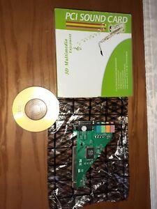 4 Channel 5.1 Surround 3d PCI Sound Karte Midi für PC Windows xp/7/8/10
