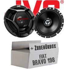 JVC Coaxiaux-Haut Parleurs Boxe pour Fiat Bravo 198 Arrière Voiture Set