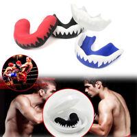 Boxing MMA Sparring Muay Thai Taekwondo Mouth Protector Guard Mouthguard Red