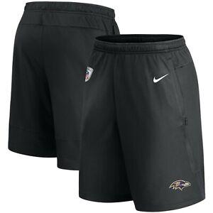 Baltimore Ravens Nike Sideline Coaches Dry Performance Shorts - Black