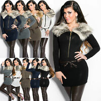 New Sexy Women knitted MINI DRESS SWEATER Ladies JUMPER Size 6 8 10 12 Pullover