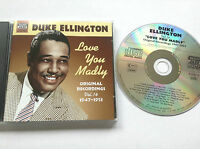 636943281420  Love You Madly Original Recordings 14 1947 1953 CD Duke Ellington