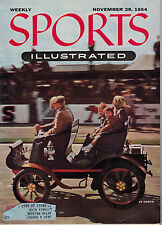 November 29, 1954 Sports Illustrated Original Weekly Issue - 1900 Peugeot