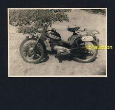 MOTORRAD Motorbike * Privates Foto um 1950