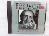 Vladimir Horowitz - The Last Recording CD, Chopin, Liszt, Hayden, Wagner + More