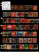 JAPAN ,  1899TO 1952  53 Different Stamps Great Fillers
