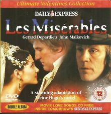 LES MISERABLES --  DAILY EXPRESS PROMO DVD