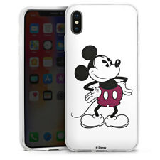 Apple iPhone Xs Max Silikon Hülle Case - Mickey Mouse - Retro
