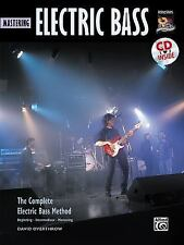 Complete Electric Bass Method: Mastering Electric Bass, Book & CD Complete Meth