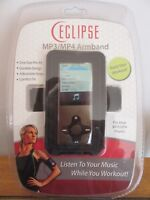 ECLIPSE ARMBAND FITS MOST of  MP3 / MP4  Players.  Sku # 50