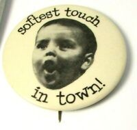Vintage Pinback Pin Button Purity Bread Softest Touch In Town delivery driver