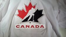 TEAM CANADA DANY HEATLEY GAME WORN AUTHENTIC 2005 IIHF SIGNED JERSEY