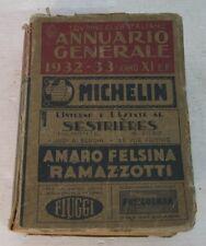 michelin touring club italiano 1932 libro