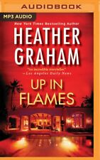 Heather Graham UP IN FLAMES Unabridged MP3-CD 10 Hours *NEW* FAST 1st Class Ship