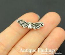 16pcs Angel Wing Charm Antique Silver Charm Necklace Pendant SC755