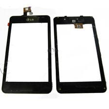 Lg Optimus 3d Max P720 Pantalla Táctil Digitalizador + Marco De Vidrio Panel Pad Negro Reino Unido