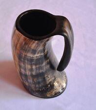 Viking Bar Mug Real Horn Handmade  From Natural Material Size:6 to 7 Inches