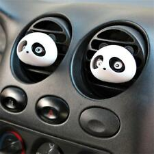 1 Pair Car Air Freshener Outlet Perfume Scent Decoration Panda Shape Black MT