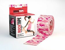 RockTape Kinesiology Elastic Sports Tape Physio Running Football Cycling Rugby H20 Black