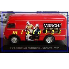 1/43 - OM Leoncino Furgone : VENCHI - 1954 [ Cacao due vecchi ] - Die-cast