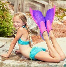 A Mermaid's Tale Aqua Splash 2-in-1 Mermaid Fins Swim Pool Size 1-4  Ages 6+