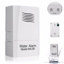 WA-08 Wireless Water Leak Sensor Water Level Alarm Alert Detector System Home Se