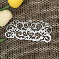 lace Design Metal Cutting Die For DIY Scrapbooking Album Paper Card WQHN