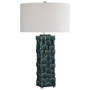 Uttermost - One Light Table Lamp - Lamps - Geometry - 1 Light Table Lamp - 18