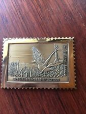 Ducks Unlimited 1990 Bronze Stamp Special Membership Edition