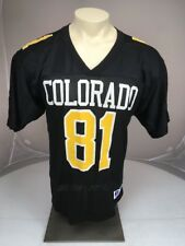 Vintage 80s RUSSELL ATHLETIC Colorado University #81 NCAA football Jersey Sz 44