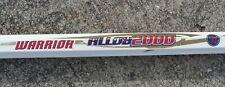"Warrior Alloy 2000 Lacrosse LAX Stick Shaft 30"" Long"
