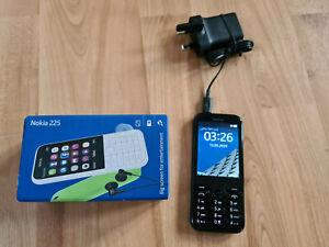 NOKIA 225 Black Phone