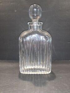 1 Retired Park Lane Crystal Liquor Decanter Vertical/Rectangular  Mint! HTF!