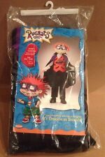 New Rugrats Chuckie Halloween Costume Dracula Vampire Disguise Size 2 - 4 Child