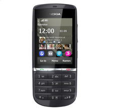 Nokia Asha 300 Unlocked 5MP Camera 3G Touch Screen Phone (black gold red Silver)