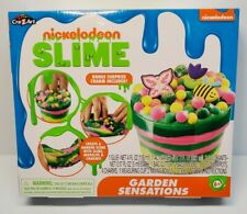 New Nickelodeon Slime Garden Sensations Kit Bonus Surprise Charm Included!