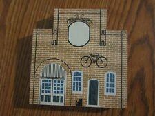 C. O. Wheel Company 1988 Tradesman Series Cat'S Meow Village Wood Hand Signed 89