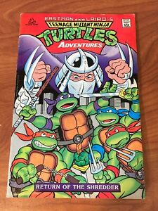 Teenage Mutant Ninja Turtles  Return of Shredder Random House VG/FN 3rd print