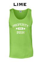 026 Property Irish Tank Top college funny St. Patrick's day party costume Irish