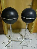 Grundig Audiorama 8000 Kugelboxen Paar schwar Vintage Lautsprecher mit Standfuß