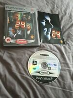 24 The Game (Platinum) (PS2) Action & Adventure Video Games - Free P&P