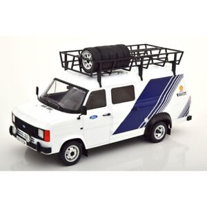 Ford Transit MK II Team Ford with Roof Accessories 1/18 - 18RMC058XE IXO