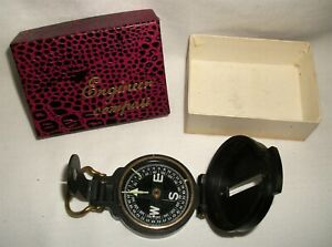 Vintage Engineer Directional Compass 12 BX with Box