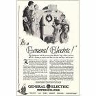 1930 General Electric Refrigerator: Monitor Top Vintage Print Ad photo