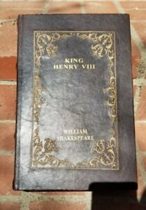 King Henry VIII by William Shakespeare Faux Leather Book Secret Storage Box