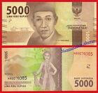 INDONESIA 5000 Rupiah rupias 2016 (2017) Pick NEW SC / UNC